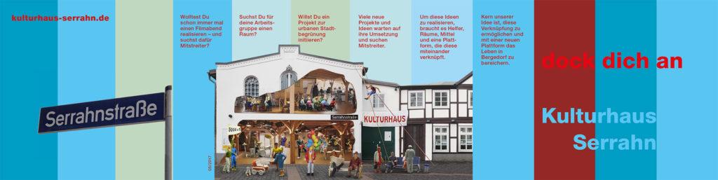 Kulturhaus Serrahn - Flyer Vorderseite